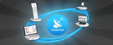 Servidor SiteRemote: Control Remoto y Gestión de Digital Signage