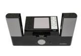 Sanllon Sound Station 2.1 para iPod y PSP - Altavoz 2.1 con subwofer para iPod y PSP. Podrás escuchar       el sonido de tu reproductor iPod o tu consola PSP en estos       altavoces y asu vez cargarlo y controlarlo con el mando a       distancia que incluye.