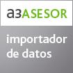 a3ASESOR | importador de datos - Ahorre tiempo importando la contabilidad desde cualquier listado Excel de la aplicación contable de su cliente y en formato oficial del modelo 340.