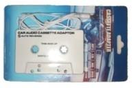 Adaptador cassette a Jack 3.5mm - Adaptador de cassette para el reproductor del automovil.    Salida stereo Jack 3.5mm para conectar cualquier CD portatil, Mp3, reproductores iPod, etc...