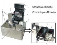 Combo MID2030 Conjunto de Reciclaje de Monedas  - Combo MID2030 Azkoyen - Conjunto de Reciclaje compacto para monedas.