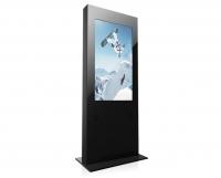 "Kiosco Multimedia  Totem - Serie Q -   Modelo de gran formato con pantalla de 42""/46""."