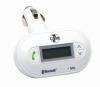 Manos Libres Bluetooth / Modulador FM BT-2000 - Con la tecnología Bluetooth, usted conectara el teléfono móvil al manos libres BT-CARKIT, realizamos la conexión inalámbrica, el BT-CARKIT enviara la voz analógica a través de una frecuencia FM, la cual elegiremos nosotros.