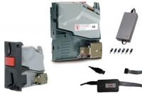 KIT AC6 CCTALK ESCUDO CORTO + ACCESORIOS - KIT Selector de Monedas Modular AC6 CCTALK-D2S Europa + Interface USB + Escudo Selector Corto + Fuente de alimentaci�n. V�lido para SiteKiosk. F�cil integraci�n en Kioscos.