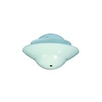 """Cámara MiniUFO falso techo, Pinhole 480TVL, 3.7mm - Cámara MiniDomo de óptica fija (Pinhole), para falsos techos. Balance de blancos, BLC, AGC. Sensor: 1/3"""" SONY Super HAD II CCD Lente: 3.7mm Pinhole Lente Resolución: 480TVL"""