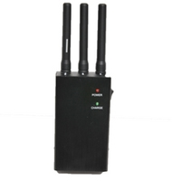 Inhibidor de cobertura portátil tri-banda (High)  - Anulador de frecuencias de telefonía portátil de alta potencia. Actúa en un radio de frecuencia de 20m, dependiendo de la proximidad del BTS (estación repetidora), condiciones ambientales y obstáculos físicos. Es ideal para: Teatros, Iglesias, Museos etc.