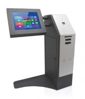Kiosco Multimedia - Serie A -   Modelo de kiosco interactivo mixto especialmente diseñado para personas con y sin discapacidad.