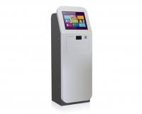 Kiosco Multimedia - Serie F -   El modelo Serie F es la opción sin límites, diseño y espacio se combinan de forma elegante para poder incorporar cualquier tipo de componente, configurable en función de las necesidades del cliente.