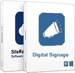 SiteRemote Combo con DS clásico - Plan Anual por Máquina  - Plan Anual de SiteRemote con módulo Digital Signage clásico. Sin necesidad de adquirir una licencia de servidor puede utilizar este servicio como Servicio Cloud / Saas (Software as a Service). Incluye SiteRemote Cloud.