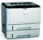 Ricoh Aficio™ SP 3410DN - Ricoh Aficio™ SP 3410DN: Impresoras B/N compactas y rápidas.