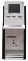 Kiosco Multimedia - Optima XLH - Diseñado para ofrecer un fácil acceso a la información a cualquier usuario. Su capacidad de regulación eléctrica en altura  con sistema anti-atrapamiento, permite el uso a personas en silla de ruedas, de la tercera edad, o niños.